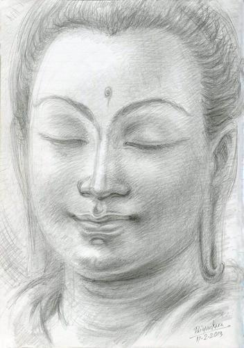 Budu Hisa-Pencil Drawing